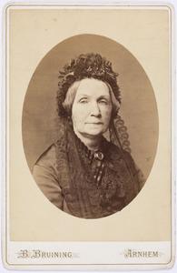 Portret van Trijntje Rodenhuis (1818-1901)