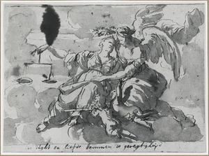 Allegorie op de Gerechtigheid