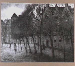 Het Spui te Amsterdam