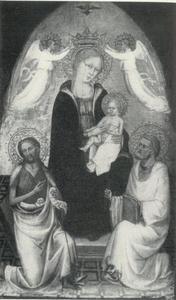 Maria met kind en de HH. Johannes de Doper en apostel Petrus