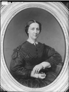 Portret van Agatha Johanna Elisabeth van Notten (1837-1866)