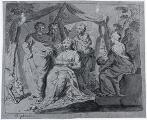 Rachel verbergt de huisgoden (Genesis 31)