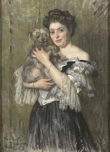 Portret van Maria Catharina Josephina Breitner-Jordan