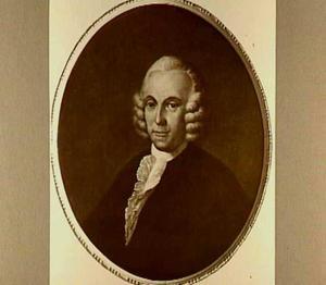 Portret van Johannes David Hahn (1729-1784)