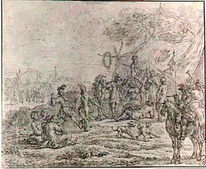 Soldatenkampement
