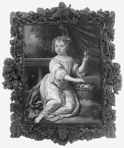 Portret van Maria van der Zaan, dochter van Cornelis en Clara van der Zaan