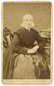 Portret van Maaike Ates Ypma (1833-1880)