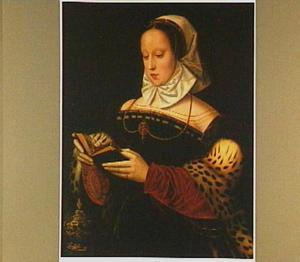De H. Maria Magdalena met boek en zalfpot