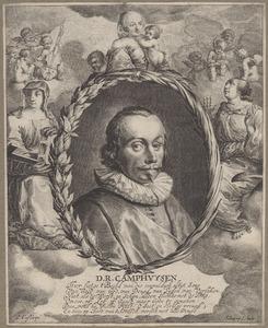 Portret van Dirk Rafaelsz. Camphuysen (1586-1627)