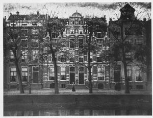 Huizen aan de Herengracht te Amsterdam