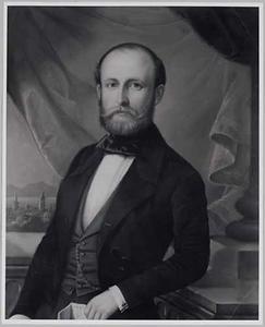 Portret van mogelijk Willem Hendrik van der Duyn (1819-1858)