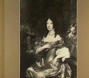 Portret van Catharina Restau (1643-17007)