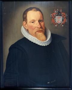 Portret van Dirk Seylmaker (Theodorus Velius) (1572-1630)