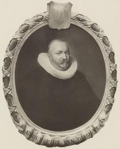 Portret van Ewout Pietersz van der Horst (1591-1624)