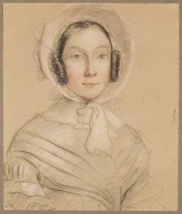 Portret van Anna Wilhelmina Elisabeth Barones van Nagell (1822-1900)