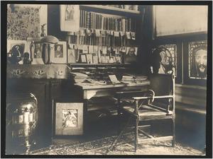 Werkkamer van Jan Toorop in de Van Merlenstraat