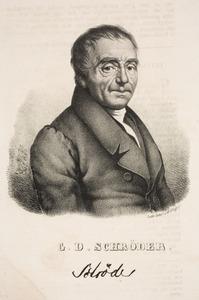 Portret van Gottfried Dietrich Schroder (1761-1835)
