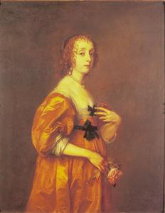 Portret van Mary Villiers, weduwe Lady Herbert, later Duchess of Lennox and Richmond