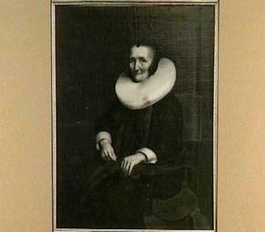 Portret van Margaretha de Geer (1575-1661)