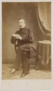 Portret van Guillaume René baron van Tuyll van Serooskerken (1813-1878)