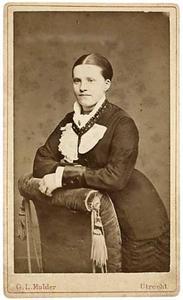 Portret van Hendrika Martina Busch Keiser (1859-1939)