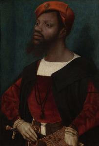 Portret van een onbekende Afrikaanse man
