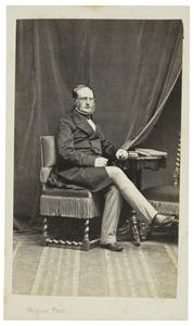Portret van Johannes Borski (1807-1891)