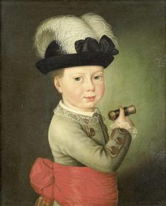 Portret van Frederik prins van Oranje-Nassau (1774-1799)