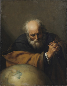 De huilende filosoof Heraclitus