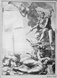 Allegorie op de stad Rome