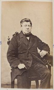 Portret van een man, waarschijnlijk Athanasius Jorritsma (1806-1895)
