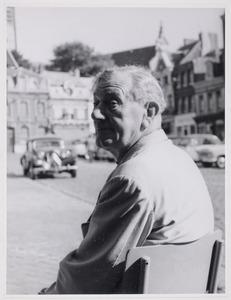 Fiedler tijdens zijn reis naar Zeeuws Vlaanderen en België; Café Hotel de Ville