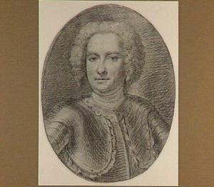 Portret van de Zwitserse militair Michiel Samuel de Mestral (1692-1750)