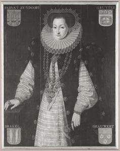 Portret van Odilia Valckenaer (1563-1620)