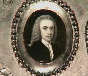 Portretminiatuur van Willem Hendrik Dierkens (1711-1776)