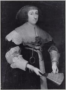 Portret van Sophia Anna van Pipenpoy (..-1670)