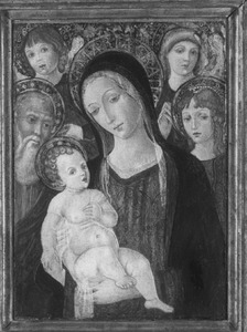 Madonna met heiligen