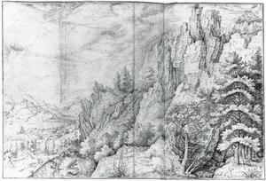 Bergdal in Bohemen