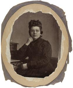 Portret van Catharina Elisabeth Mees (1825-1876)