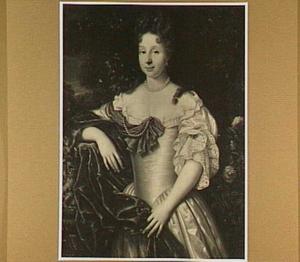 Portret van Elisabeth de Claer (?-1716), echtgenote van Philips Claude Touroude de Saint Amant
