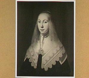 Portret van een vrouw, genaamd His van Popma