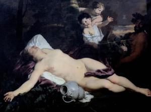 Slapende Bacchante