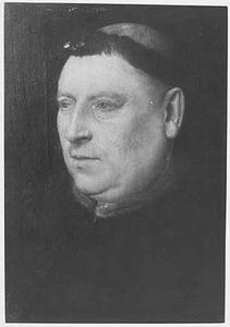 Portret van een monnik