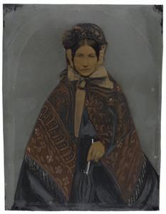 Portret van Anthonetta Maria Mackaaij (1819-1867)
