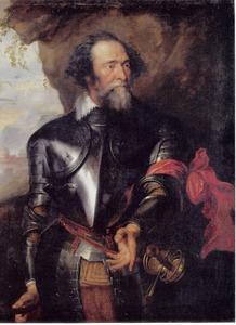 Portret van graaf Hendrick van den Bergh