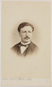 Portret van Joannes Pieter Roetert Tak van Poortvliet (1839-1904)