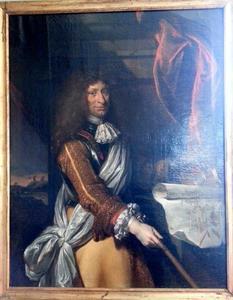 Portret van Henrik Ruse van Rysensteen  (1624-1679), generaal en ingenieur