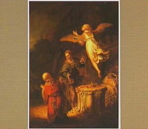 Het offer van Manoach (Richteren 13::20)