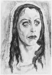 Portret van Charlotte Theresia Catharina Köhler (1892-1977)