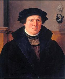 Portret van een man, mogelijk uit de Delftse familie Meerman